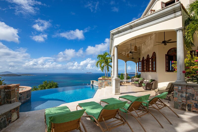 Exclusive Peter Bay rental, now renting to the public, holiday rental in Maho Bay
