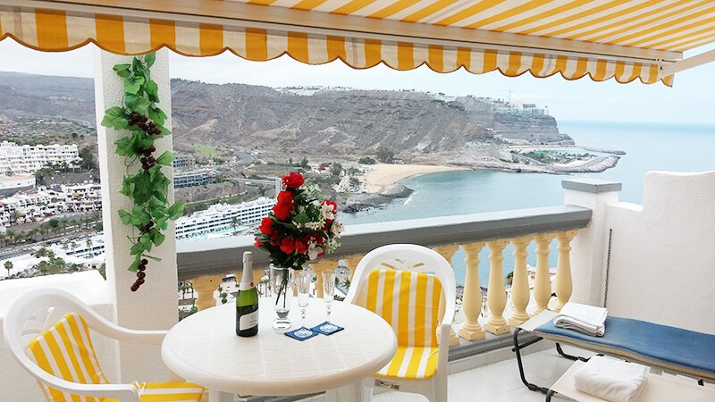 Monseñor Air Con Seaview Apartment (PDC-2), vacation rental in Mogan