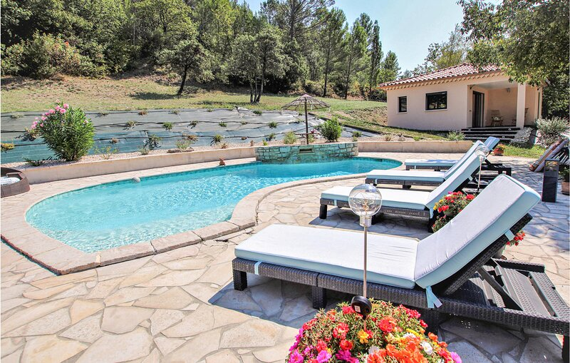 Beautiful home in St Montan with Outdoor swimming pool and 1 Bedrooms (FRA170), vacation rental in Viviers