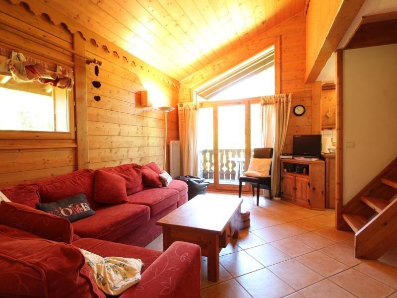 4pièces 6pers : wifi, parking face au spa & ski bus – semesterbostad i Les Carroz-d'Araches