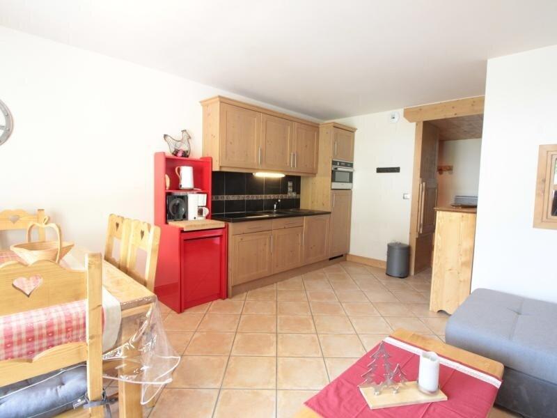 3pièces + cabine 8pers cosy : garage au coeur du village – semesterbostad i Les Carroz-d'Araches