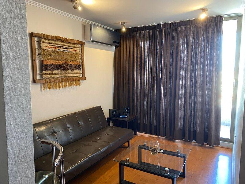 Hermoso departamento con vista en Providencia, vakantiewoning in Nunoa