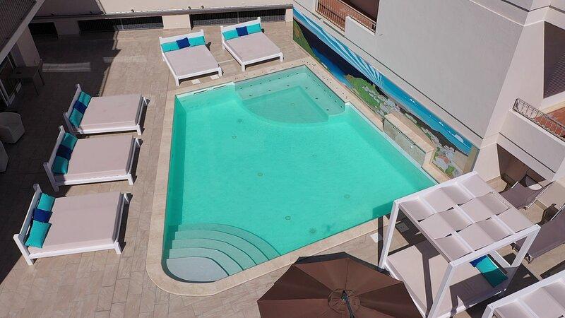La Contessa B11 pool and seaview, holiday rental in Sardinia