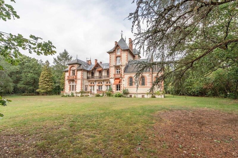 Chateau du Bois Rabot - Exceptionnel - Sologne, casa vacanza a Nouan-le-Fuzelier