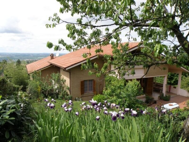 Amazing house with swimming-pool, holiday rental in Montecchio