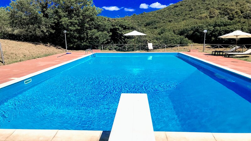 VALLOCCHIA VILLA + LODGE/SLEEPS 18 - 4 kms/Spoleto, holiday rental in Spoleto