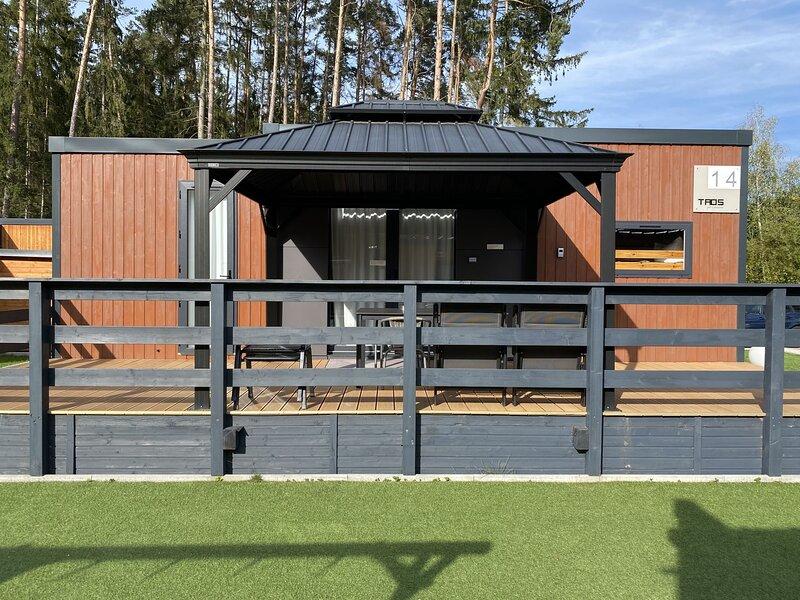 Hochwertiges Mobilheim am See (WA106), holiday rental in Zeitlarn