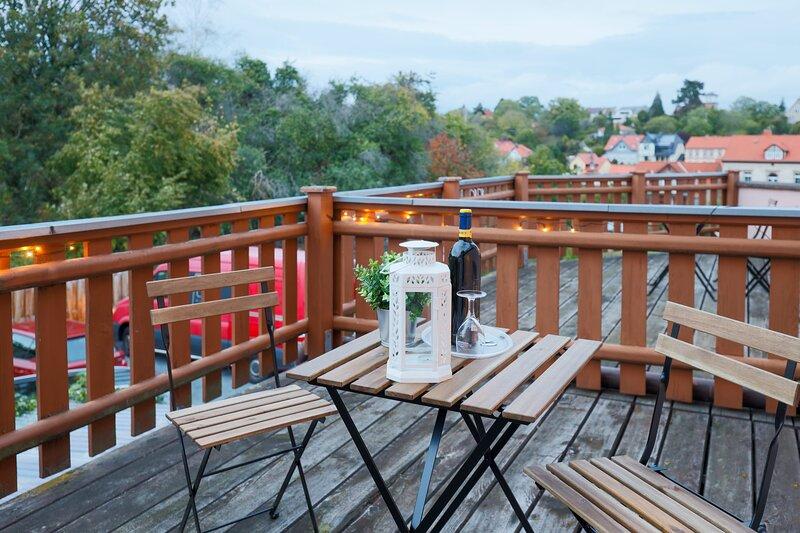 Super süßes Einzelzimmer mit Balkon, holiday rental in Harzgerode