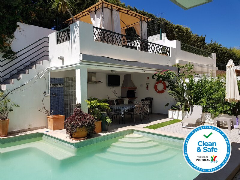 Superior Villa with private pool and sea views in Tavira, Portugal, vacation rental in Tavira