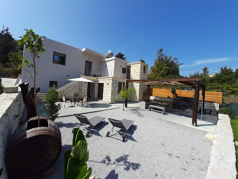 New - Renaissance - Modern Stone Home at Vryses Chania - First entry, holiday rental in Crete