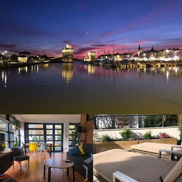T3 très lumineux etcalme avec grande terrasse + parking, vacation rental in La Rochelle