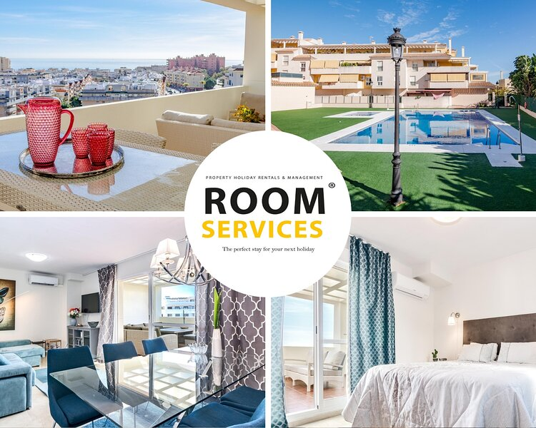 PDM - Elegant Apartment with Breathtaking Sea view, vacation rental in Estepona