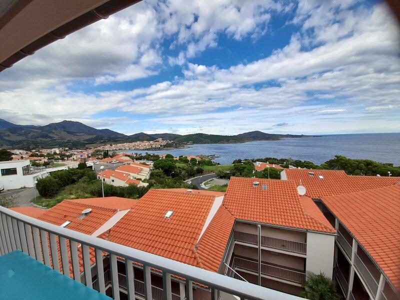 Beautiful apartment with sea view, alquiler de vacaciones en Banyuls-sur-mer