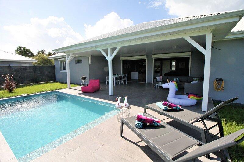Villa LA PERLE Havre de paix à 5 minutes de la plage, location de vacances à Le Gosier