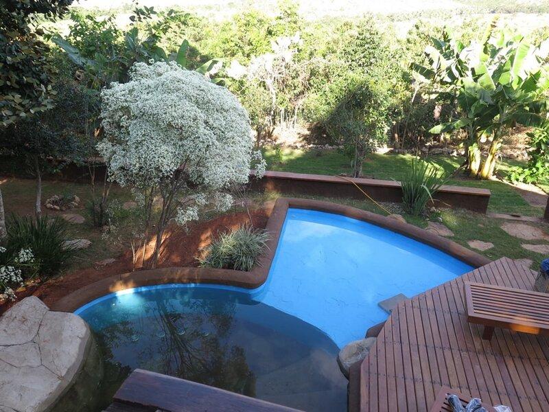 Relaxing Country House in Chapada dos Veadeiros - GOI001, vacation rental in Alto Paraiso de Goias