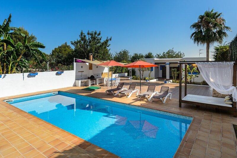 Villa Miguel   4 Bedrooms   2 Bathrooms   San Rafael   Ibiza, holiday rental in Sant Rafel