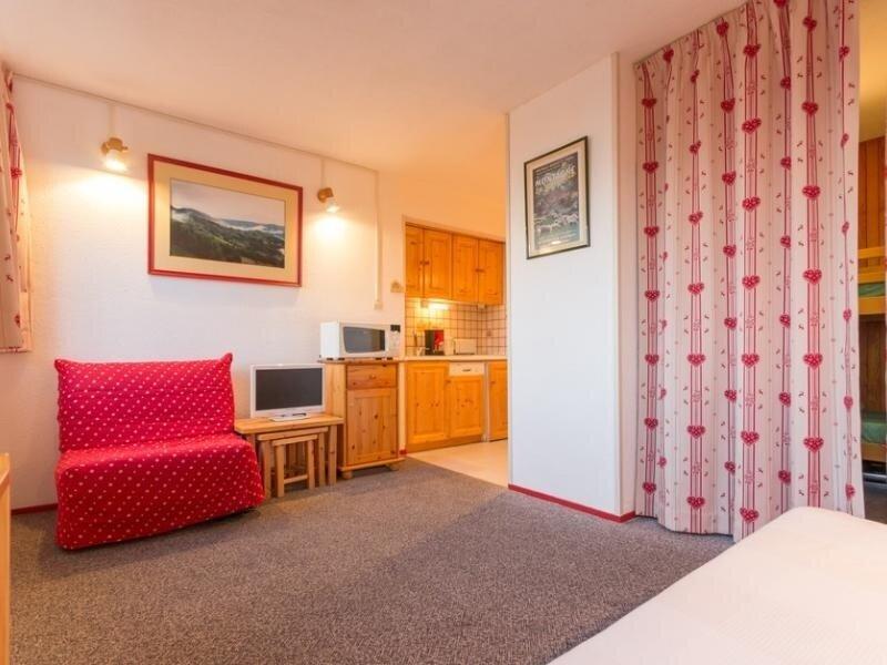 STUDIO TOUT CONFORT DE 26 M² AU PIED DES PISTES, holiday rental in Le Corbier