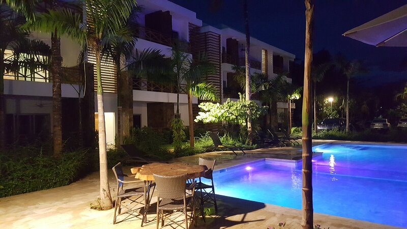 Luxury Penthouse With Private Terrace Minutes From The Beach, location de vacances à Las Terrenas