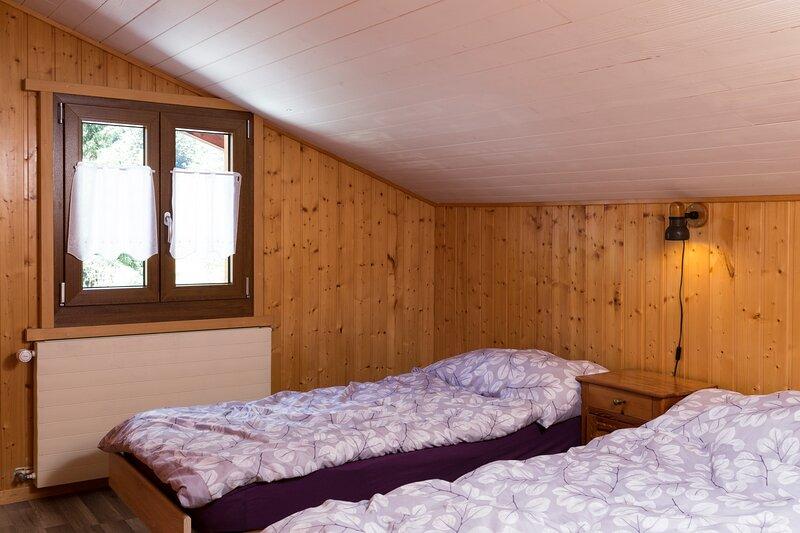 Chambre, 2 lits