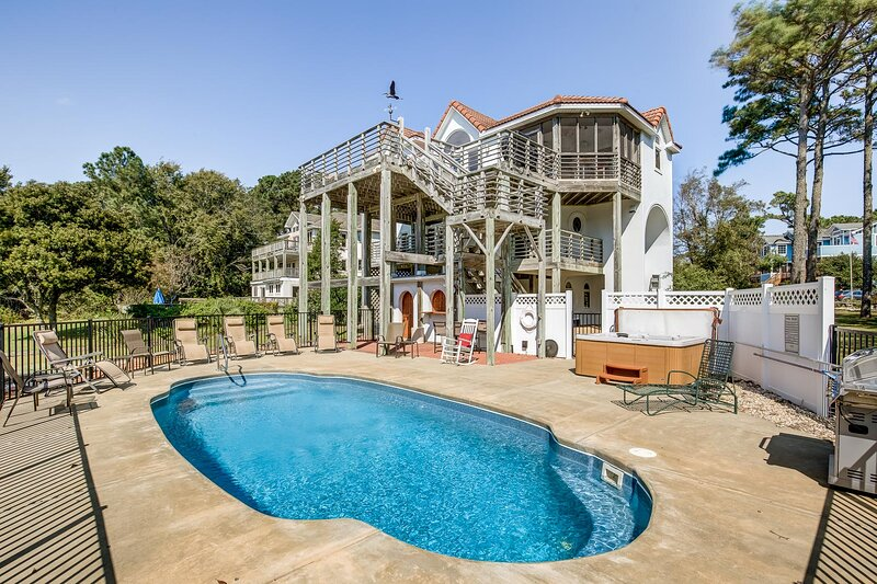 Sound's Great! | Sound Front | Private Pool | Corolla, vakantiewoning in Corolla