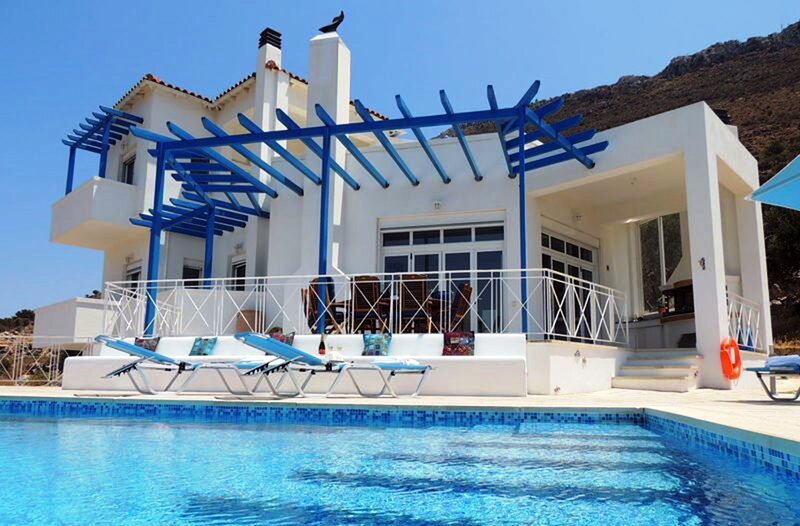 Villa Eleonora, holiday rental in Drapanos