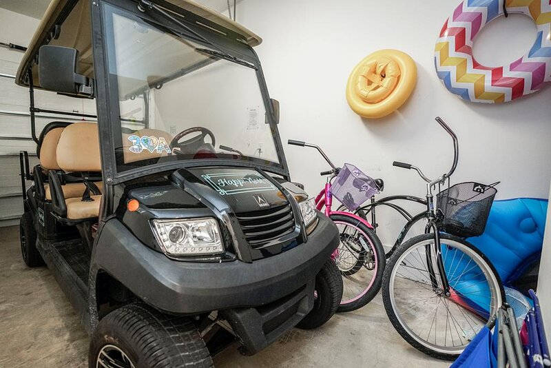 Golf Cart Included with Your Rental! WOOHOO!