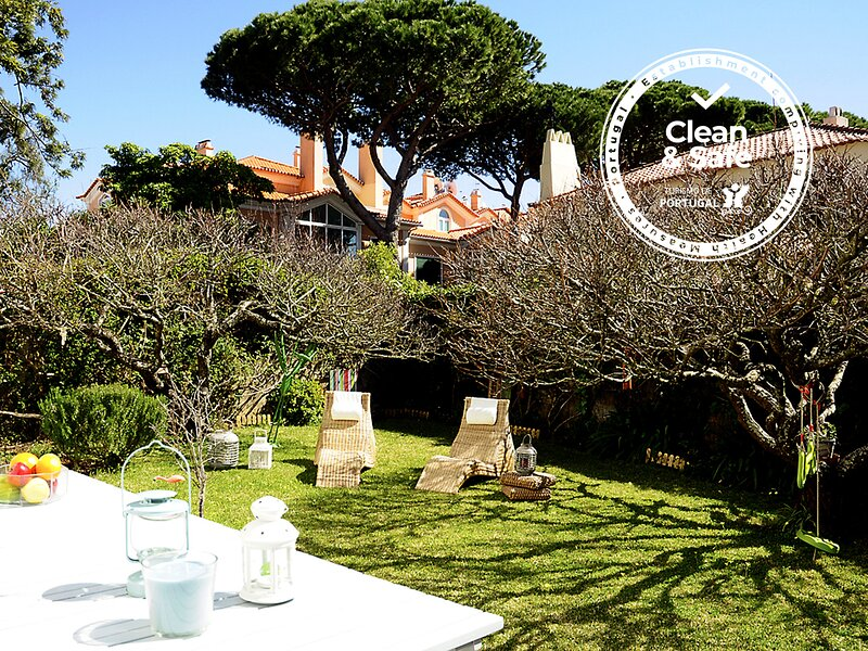 Cascais Sunny Garden – semesterbostad i Estoril