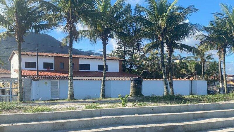 Casa Ampla com Vista MAR! Praia Grande (Jd. Solemar), holiday rental in Mongagua