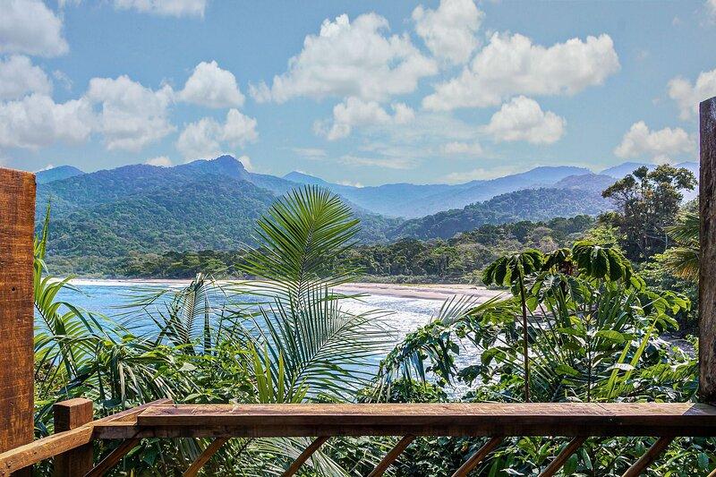 Suíte Banho na Pedra - Reserva Ecológica Canto do Gato - Castelhanos - Ilhabela, holiday rental in Ilhabela
