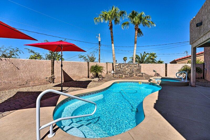 NEW! Private Lake Havasu Escape w/ Pool and Spa!, holiday rental in Topock