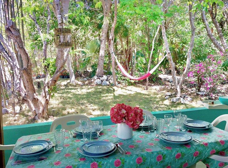 La Casita Azul, jungle view, by Tulum and Akumal, location de vacances à Chemuyil