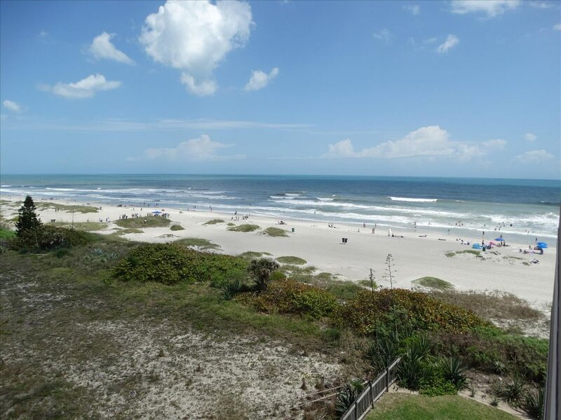 Cocoa Beach is famous for its white sand, endless sun and  great waves