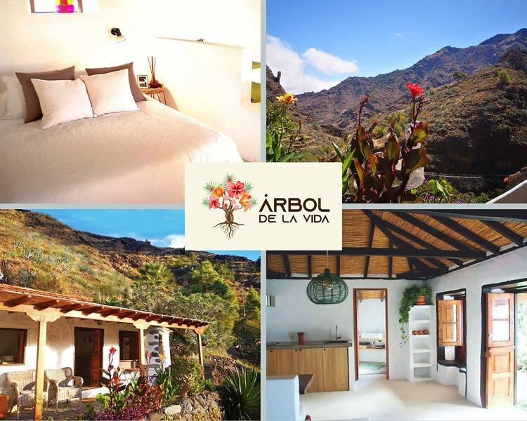 Modern/Rural & Spacious Studio in Middle of Nature, holiday rental in San Sebastián de la Gomera
