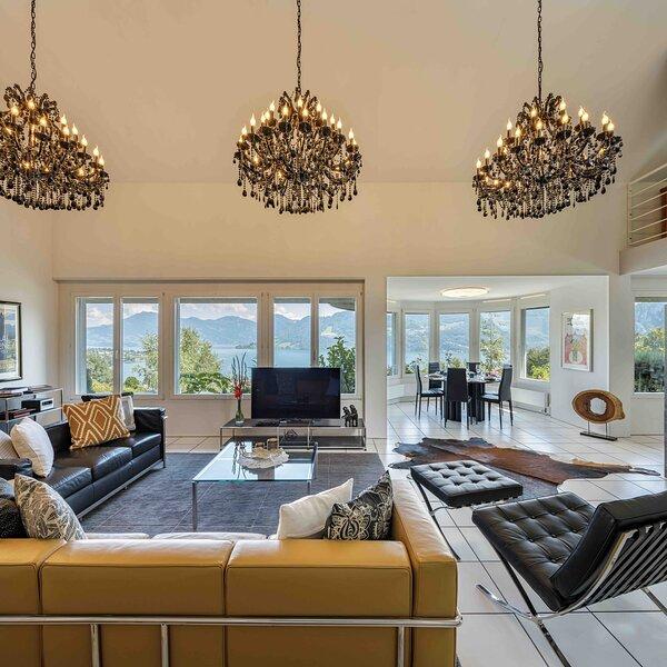 Villa Ysara - 7 Bedrooms Lucerne Lake View Villa, alquiler de vacaciones en Wilen