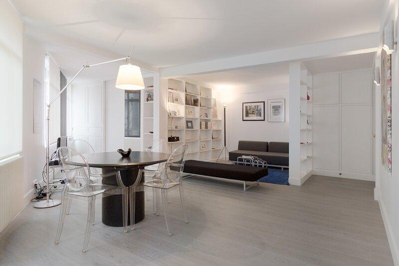Quiet Designer Get Away in the Northern Marais, Ferienwohnung in Paris