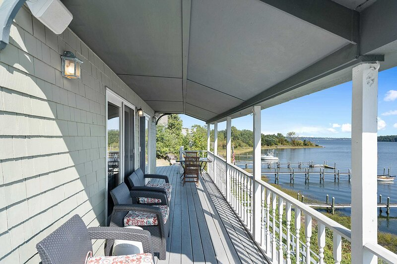 You'll have direct access to the waterfront just steps from the house.