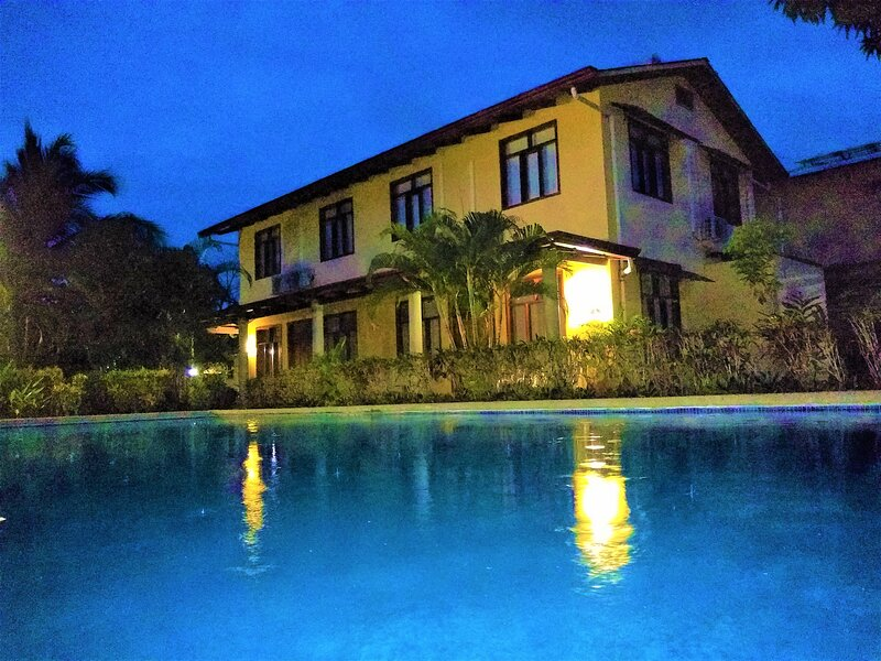 Villa 3 - The evenings are beautiful here with star a filled sky.