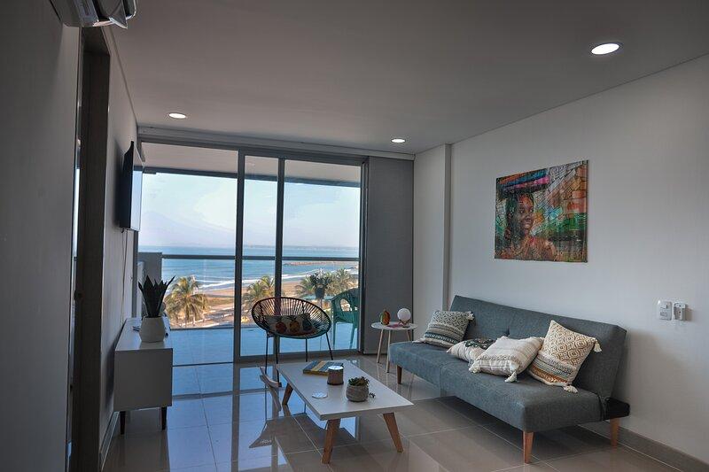 Cartagena oceanfront paradise, holiday rental in La Boquilla
