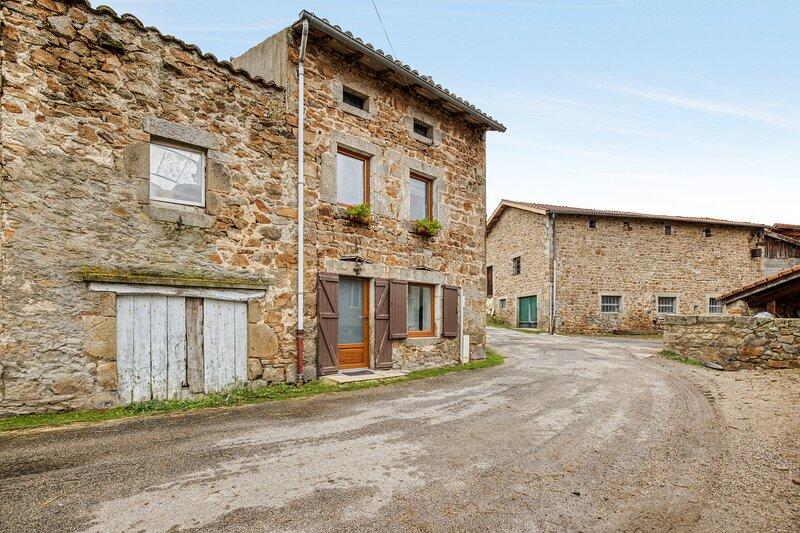 Amazing house with garden & Wifi, alquiler vacacional en Beauzac