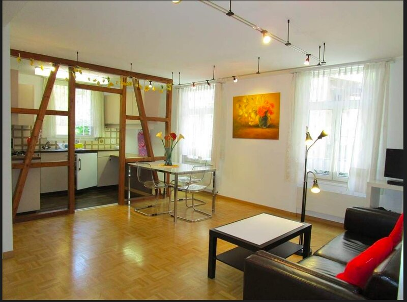 2-Zimmer Business Apartment - Mindestmietdauer 1 Monat, aluguéis de temporada em São Galo (cantão)