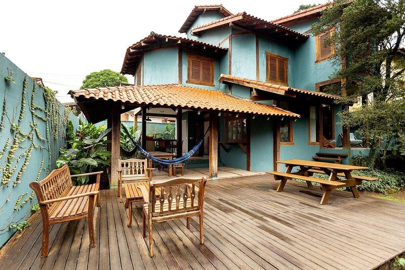 Sossego em Maresias Casa em condomínio fechado, aluguéis de temporada em São Sebastião