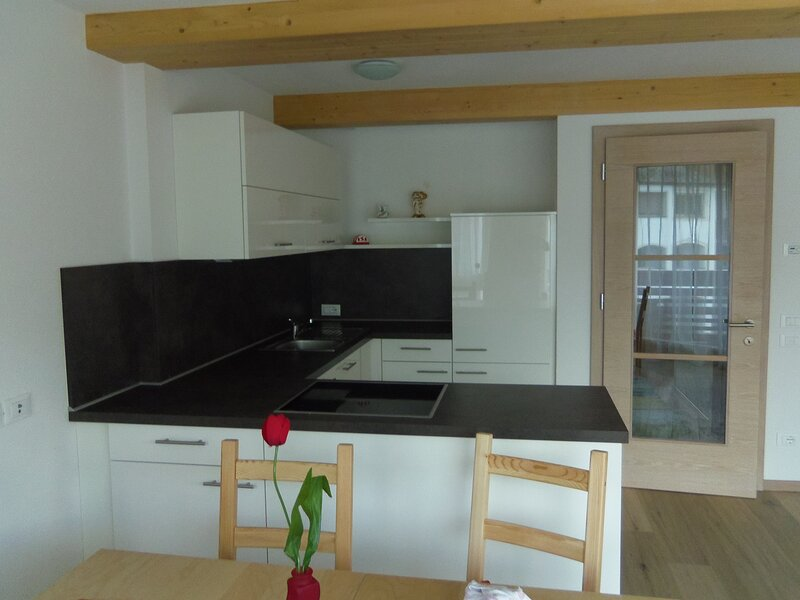 1 appartamento trilocale con vista panoramica, casa vacanza a San Cassiano