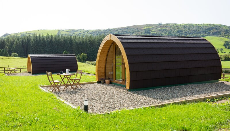 Luxury two-bed Glamping Pod in County Clare 2, casa vacanza a Limerick