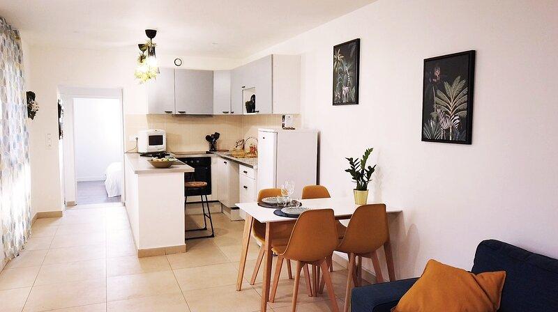 Cozy logement avec terrasse et jardin,coin calme, location de vacances à Draveil