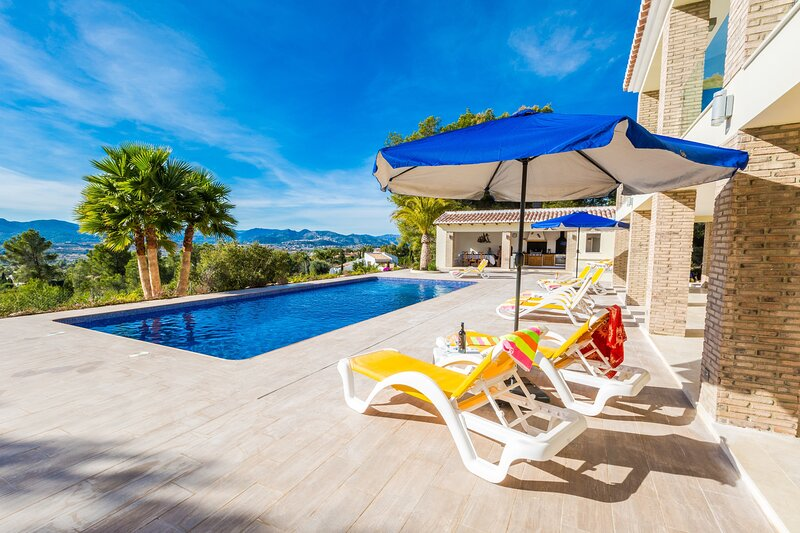 Sun Terrace & Pool with Views