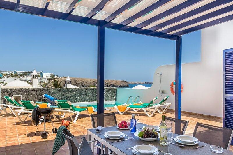 Blancazul Villa Barranco, holiday rental in Playa Blanca