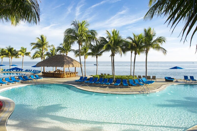 Access to all resort amenities, including main pool area with tiki bar, hot tubs, hammocks and more