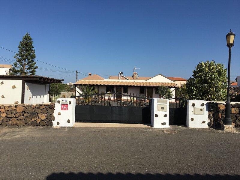 Vivienda Vacacional  in Villa - Casa Carlotta - Lajares, location de vacances à Lajares