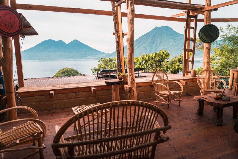 Fox Queen Cabin w/ Balcony - aRise Residency * Eagle's Nest, location de vacances à San Juan la Laguna