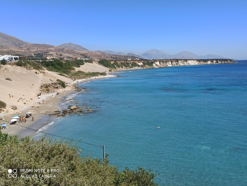 "ASTONISHING BEACH OF ""ORTHI AMMOS"" AT FRAGGOKASTELO, SFAKIA"